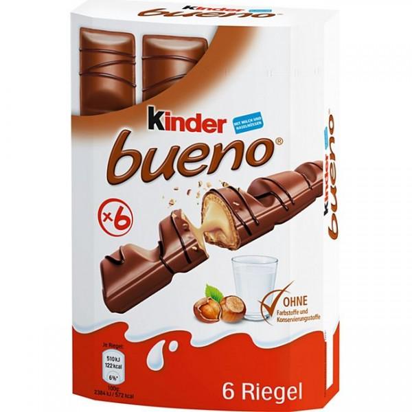 Kinder Bueno 6´er 129g