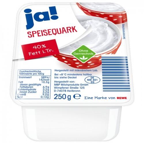 Ja! Speisequark 40% Fett