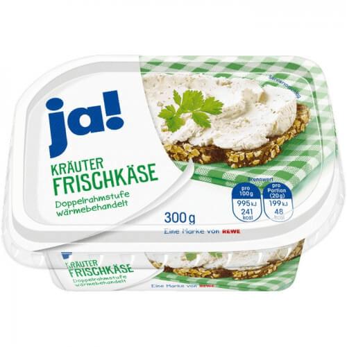 Ja! Kräuter Frischkäse 300g