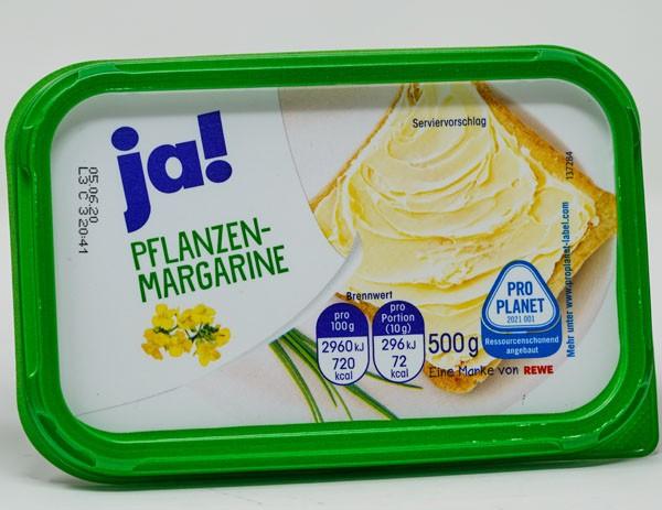 JA ! Pflanzen Margarine 500g