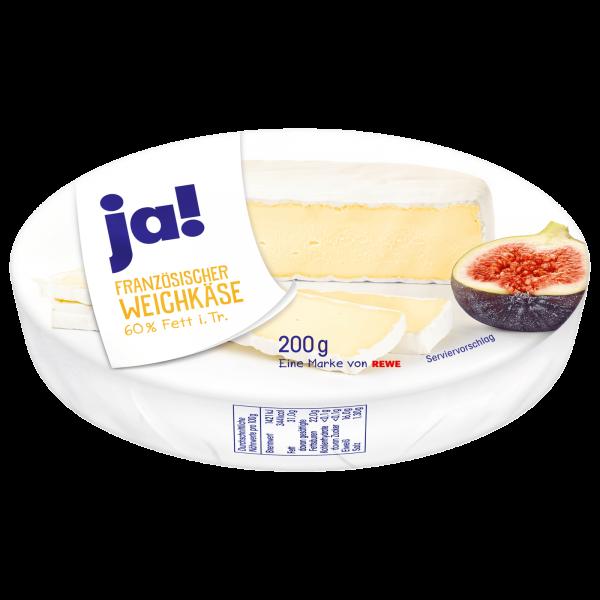 Ja! Rahm-Camembert 60% Fett 200g