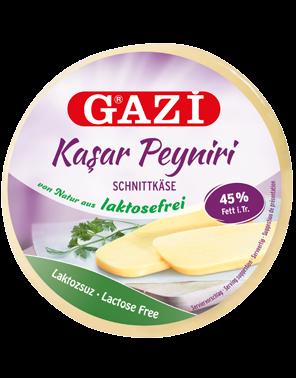 Gazi Laktosuz Kasar - Kasar Peynir 500g