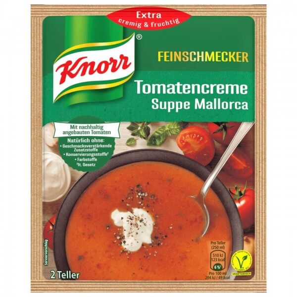 Knorr Feinschmecker Tomaten Suppe Toscana 500ml
