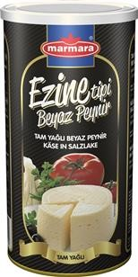 Marmara Ezine Tipi Käse in Salzlake - Ezine Tipi Beyaz Peynir 800g tam yağlı