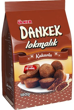 Ülker Dankek Lokmalik Mini Cocos 180g