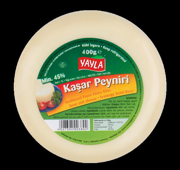 Yayla Kashkaval Schnittkäse - Kasar Peyniri 400g