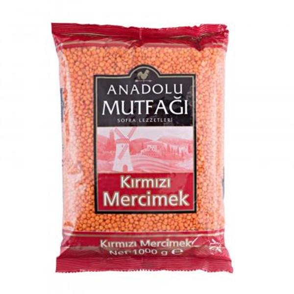 Anadolu Mutfagi Kirmizi Mercimek 1Kg