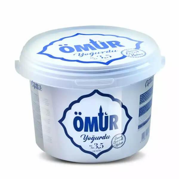 Ömür Joghurt 3,5% Fett 2,5 Kg