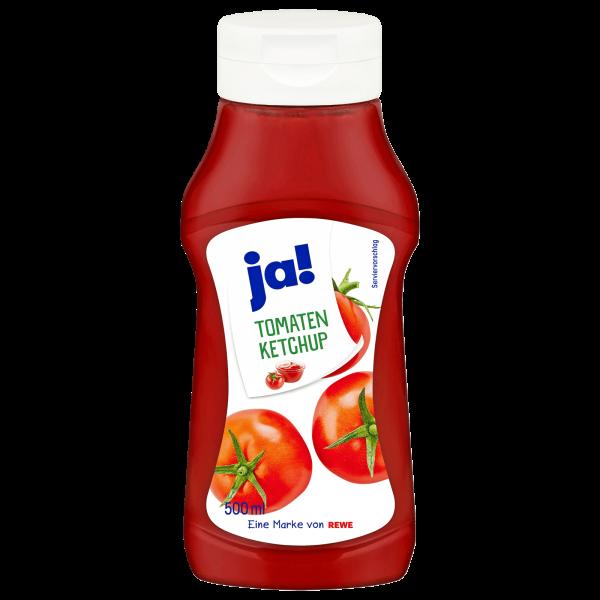 Ja! Tomaten Ketchup 500ml