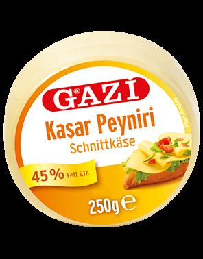 Gazi Kashkaval Schnittkäse - Kasar Peyniri 250g
